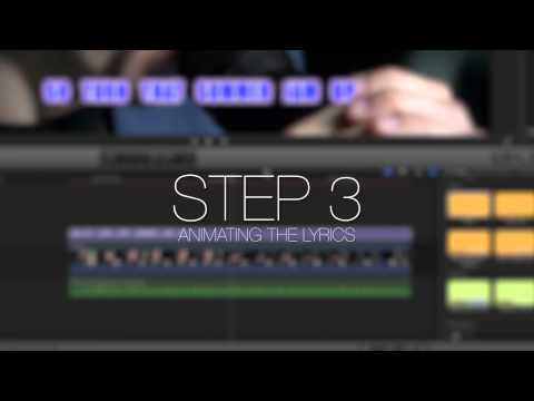 ProKaraoke Lesson - Karaoke Tools for Final Cut Pro X - Pixel Film Studios