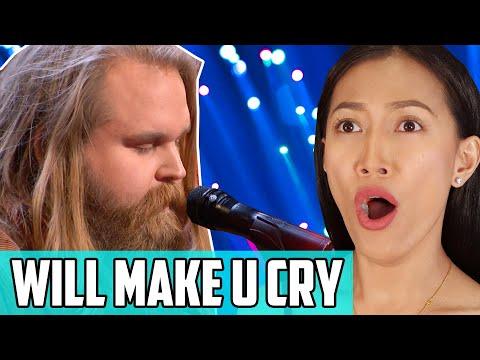 Chris Kläfford Sings Imagine Reaction | Swedish Idol Winner Takes On America's Got Talent (AGT 2019)
