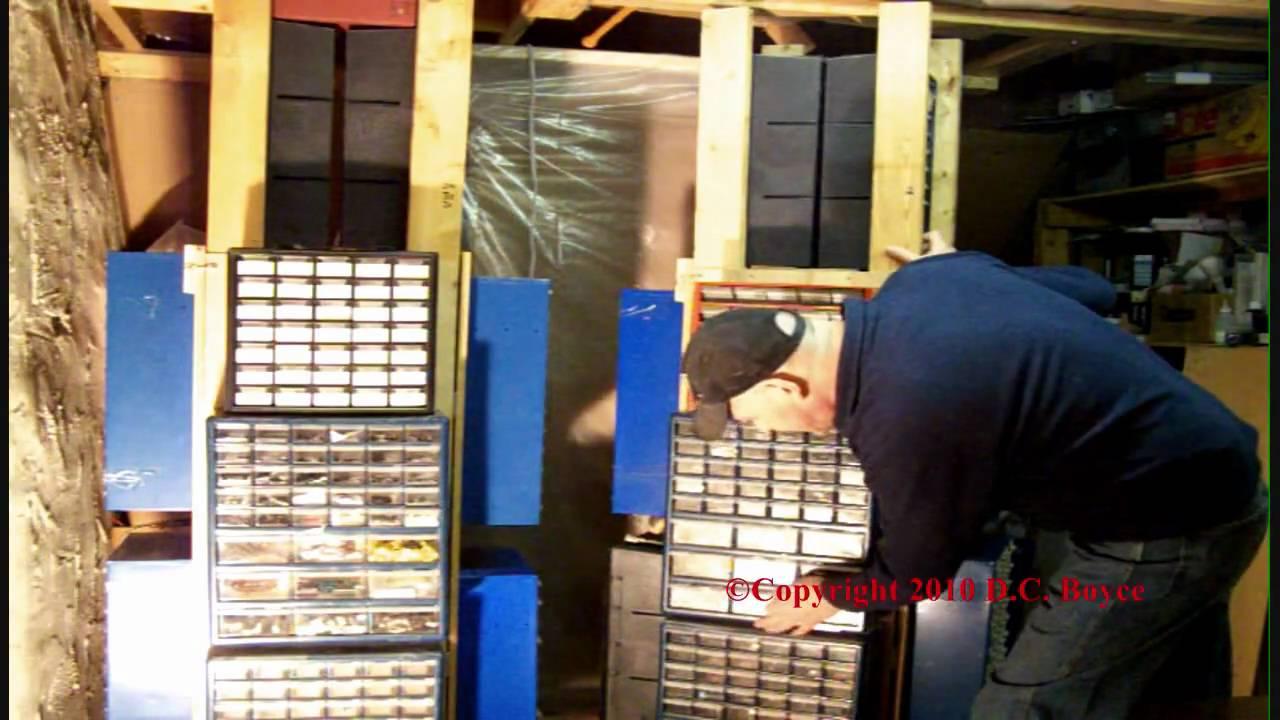 BYO DIY Electronic Parts Cabinet Storage Bin System  YouTube