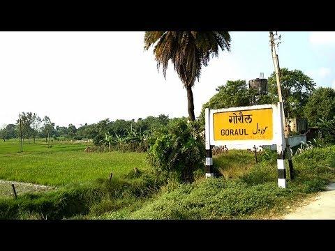 Goraul Railway Station in Vaishali, Bihar