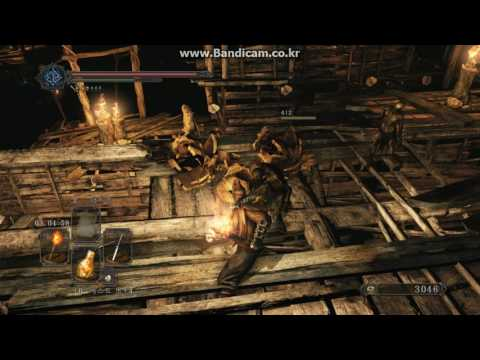 Dark Souls 2 : The Gutter - All Torch Spot run, (Get Dark Witch Set)