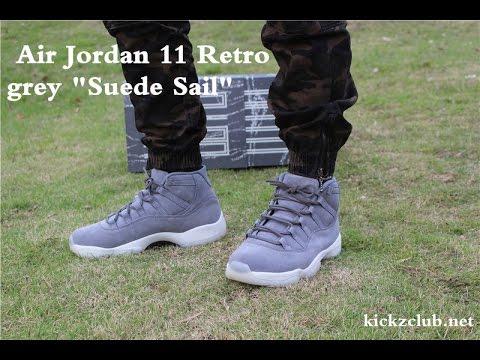 huge discount e22b2 14521 Air Jordan 11 Retro grey