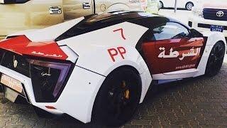Lykan Hypersport Now In Abu Dhabi Police Fleet