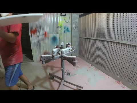 Перекраска пленочных фасадов RAL 1019