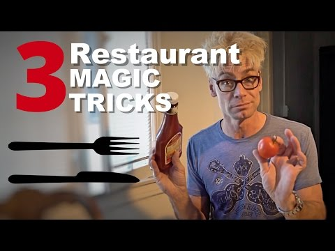 TOP Magic PRANKS To TRICK Your Waitress at a Restaurant!