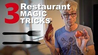 TOP Magic PRANKS To TRICK Your Waitress at a Restaurant!