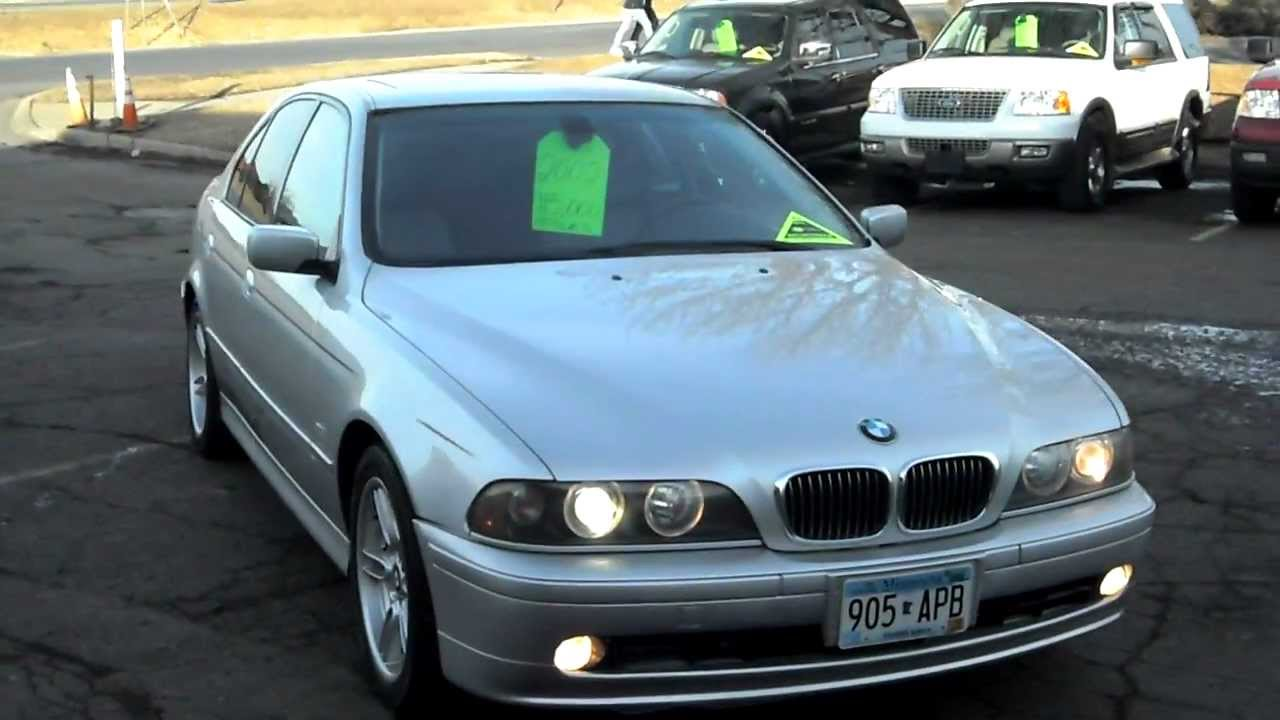 2002 bmw 540i 4 door sport package 4 4 liter v8 navigation all optioins warranty youtube. Black Bedroom Furniture Sets. Home Design Ideas