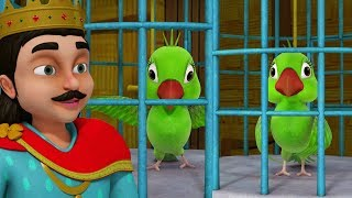 The Two Little Parrots Story   Bangla Stories for Kids   Infobells