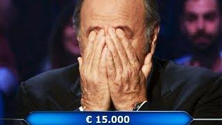 Gerry Scotti in lacrime per il concorrente. L'aiuto dato è...