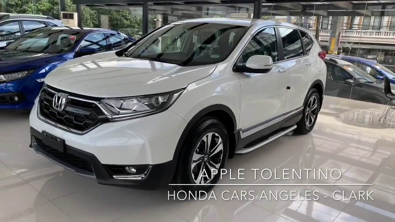 Download 2018 HONDA CRV 1.6 TOURING 9AT DIESEL ( Philippines ) White Orchid Pearl