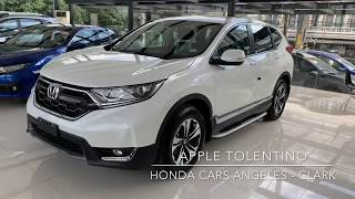 2018 HONDA CRV 1.6 TOURING 9AT DIESEL ( Philippines ) White Orchid Pearl