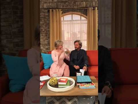 Mary Beth Evans and Stephen Nichols on Facebook live