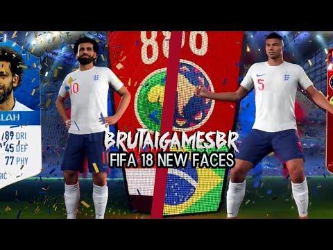 VAZOU NOVA FACE DO CASEMIRO E SALAH | FIFA 18 WORLD CUP
