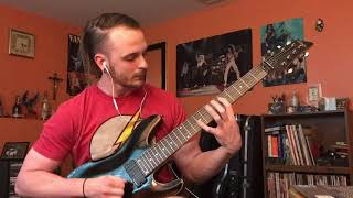Trivium - At The End Of This War (Guitar Cover)