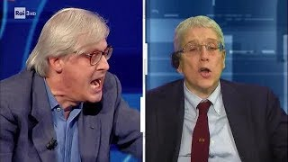 Il dibattito tra Sgarbi, Giordano, Furfaro e Giuli (1^ parte) - #cartabianca 09/10/2018