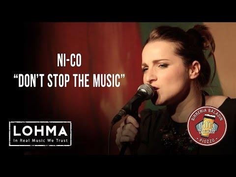 NI-CO - Don't Stop The Music (Rihanna Cover) - LOHMA Live @ Le Baladin