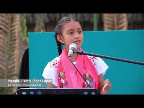 Natalia Lizeth López López: Discurso en Kani Tajin: DIF Estatal Veracruz
