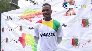 Гвинейцы отметили в СПб  День независимости футбольным турниром