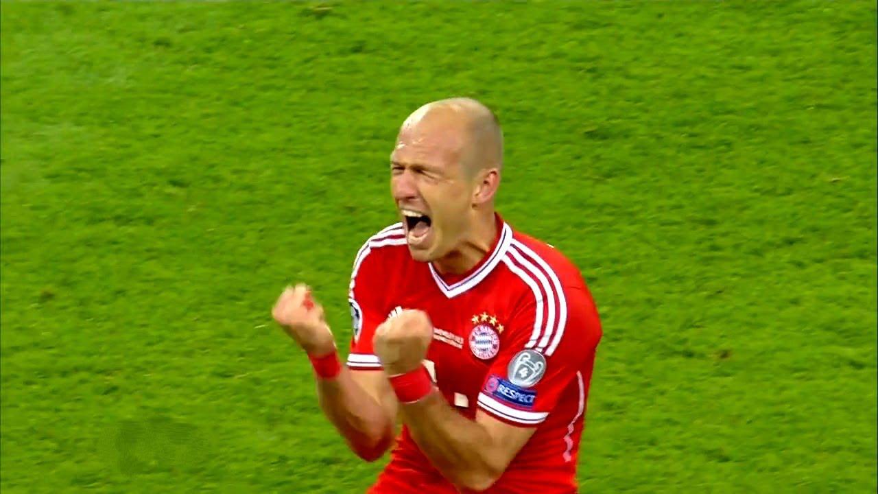 Download Bayern Munich vs Borussia Dortmund 2-1 - Robben Wins UCL For Bayern in Final 2013