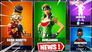 NEW SKINS NOEL! DECEMBRE 21 COMM20BRE 2018 (FORTNITE ITEM SHOP 21/12/2018)