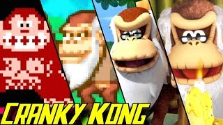 Evolution of Cranky Kong (1981-2018)