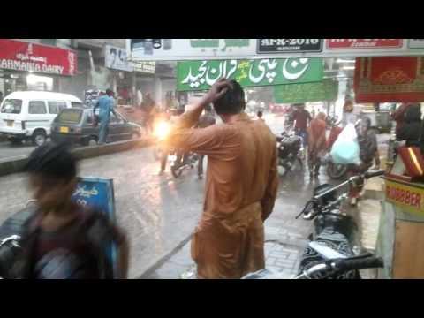 barsat at hyder chowk hyderabad sindh amjad ali depar amjad ali channa