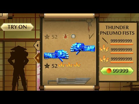Shadow Fight 2 The Most Powerful Thunder Pneumo Fists
