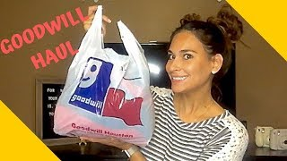 GOODWILL HAUL | GREAT FINDS | 2018 | NAMEBRANDS