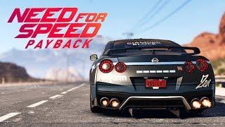 Need for Speed Payback UPDATE PL - NISSAN GTR POD DRAGII - ZAGINIONE AUTA