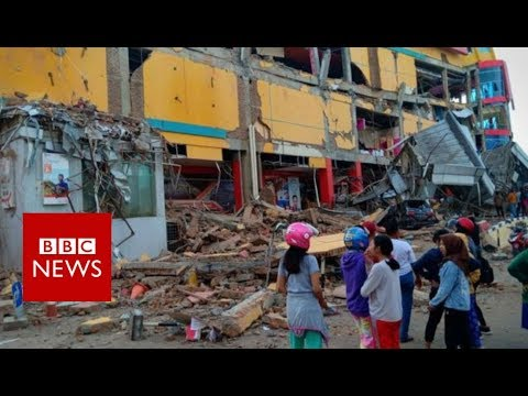 Indonesia earthquake: Hundreds dead in Palu quake and tsunami - BBC News