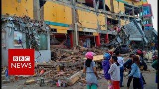 Indonesia earthquake: Hundreds dead in Palu quake and tsunami - BBC News