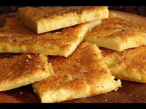 Chickpea Flatbread Recipe - Farinata Rustic Italian Pancake - YouTube