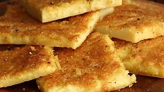 Chickpea Flatbread Recipe  - Farinata Rustic Italian Pancake