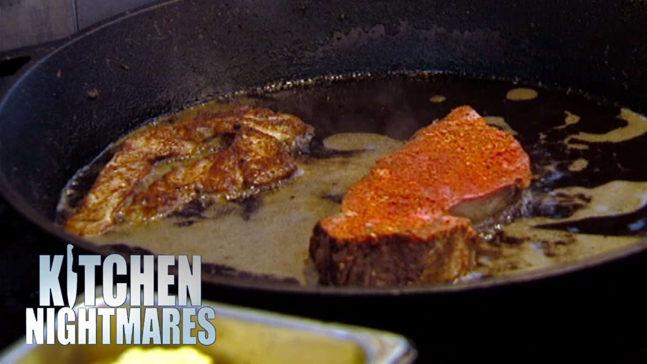 Head Chef Doesn't Know What A Pescatarian Is | Kitchen Nightmares