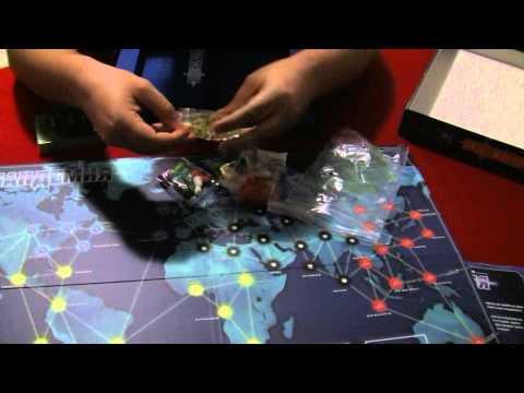 Настолна игра: Пандемия - Отваряне на кутията