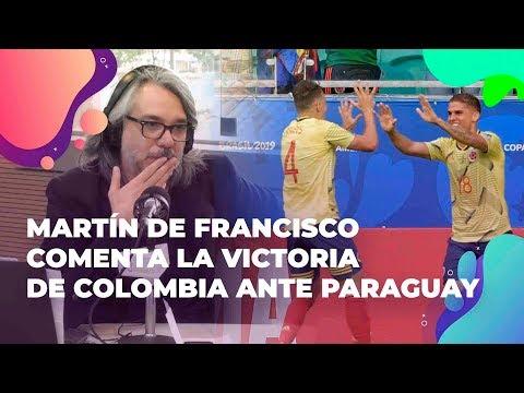 Martín de Francisco comenta la victoria de Colombia ante Paraguay