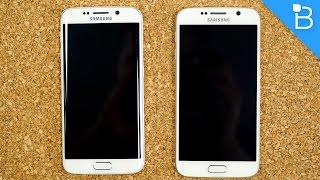 Galaxy S6 vs Galaxy S6 Edge: A battle of screen and glass