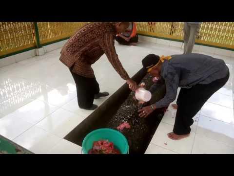 Prosesi Pemandian Situs Sejarah LESONG BATU MUARA KAMAN