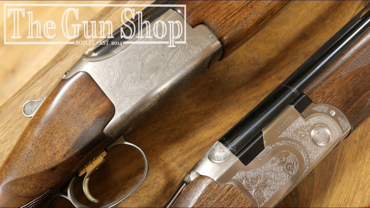 Beretta Silver Pigeon vs Browning 525