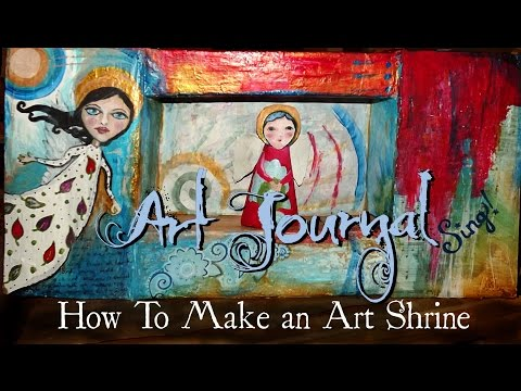 How to Make an Art Shrine