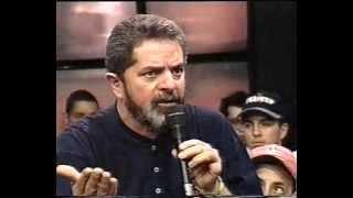 Exclusivo! Entrevista LULA em 1996 no Programa Livre SBT - Parte 1