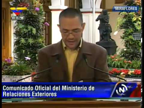 Venezuela rechaza las indignantes declaraciones de Obama sobre el Presidente Chávez