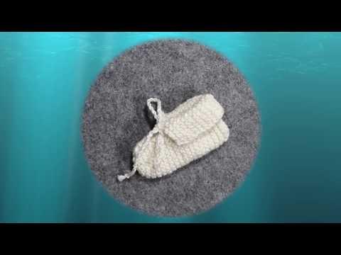 Youtube-Tutorial: Babysocken stricken ohne Nadelspiel