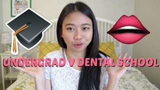 Differences Between Undergrad and Dental School || Brittany Goes to Dental School