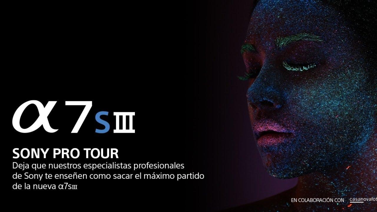Presentación Sony A7S III con Pablo Gil y Javier Garcés