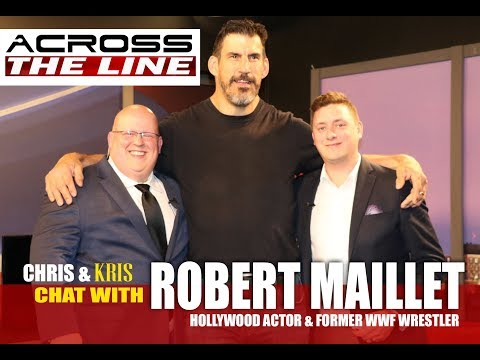 Robert Maillet discusses how he transitioned from professional wrestling to Hollywood acting