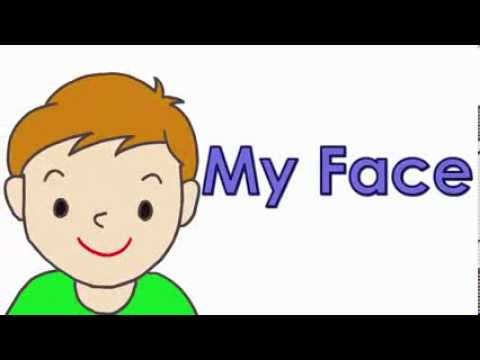 Talking Flashcards My Face  YouTube