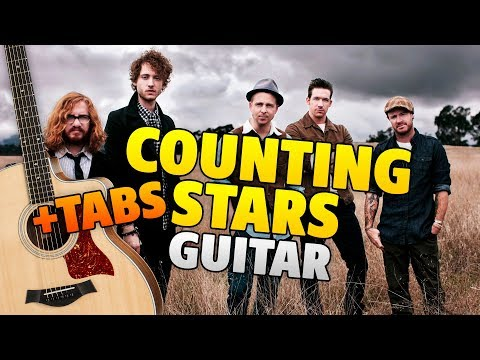 OneRepublic – Counting Stars (fingerstyle guitar cover with TABS)