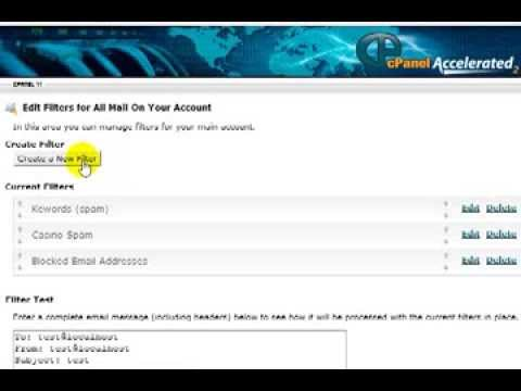 How to Block Email Spam with Cpanel (Account Level Filtering)