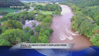 Unicoi County couple evacuate Florence aftermath flooding along Nolichucky